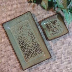 Artisan Made Hand Thrown Pottery Plates